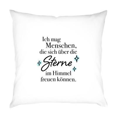 Sterne im Himmel - Kissen/Kissenbezug 40x40cm von Lieblingsmensch