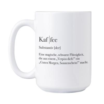 Jumbotasse - Kaf | fee