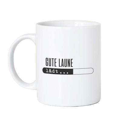 Gute Laune lädt - Lieblingskollegen Tasse