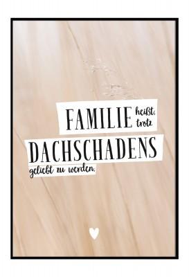 Poster - Lieblingsmensch - Familie