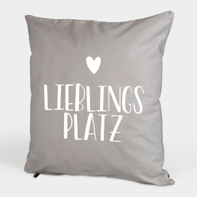 Lieblingsplatz - Kissenbezug
