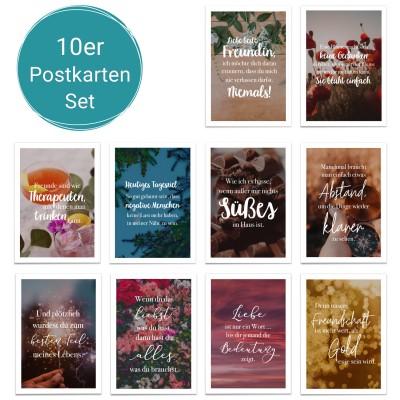 Postkartenset - 10 Postkarten für deine Lieblingsmenschen - Lieblingsmensch Onlineshop