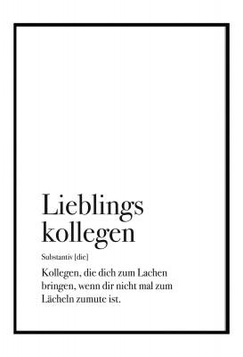 Lieblingskollegen - Poster