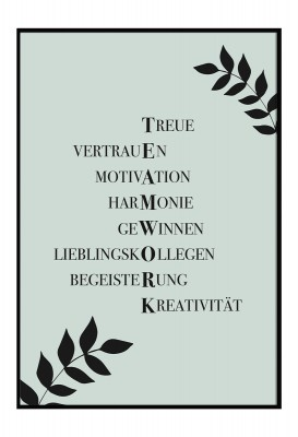 Teamwork - Poster