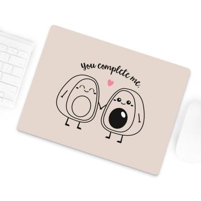 You complete me - Mousepad mit Avocados von Lieblingsmensch