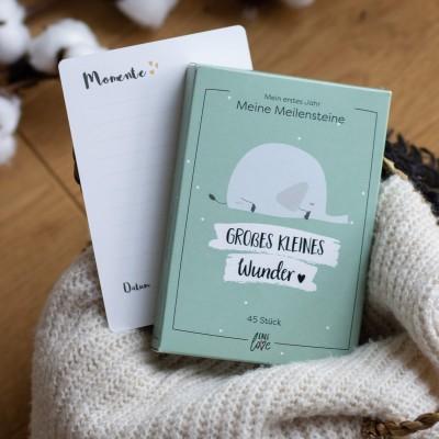 Meilensteinkarten - mein erstes Jahr - Geschenk zur Geburt