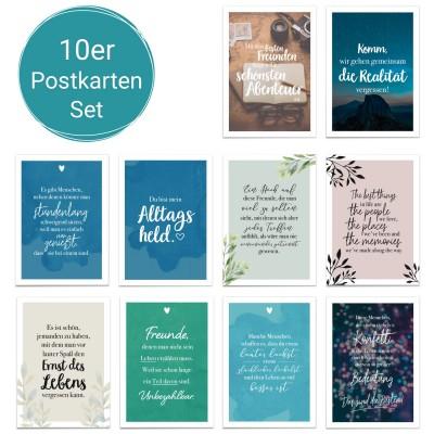 10er Postkartenset - Lieblingsmomente