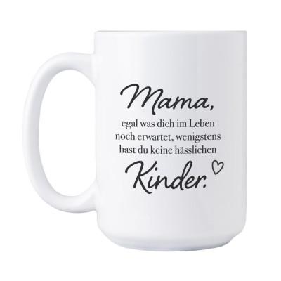 Mama Tasse XXL - Geschenk zum Muttertag - Jumbotasse von Lieblingsmensch