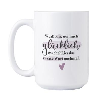 Das zweite Wort XXL Tasse - Lieblingsmensch Shop