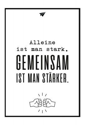 Gemeinsam - Poster