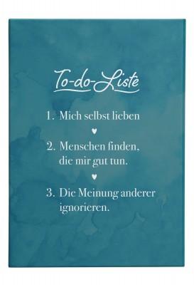 Wandbild Lieblingsmensch - To Do Liste