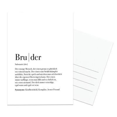 Bruder Dudeneintrag - Lieblingsmensch Definition