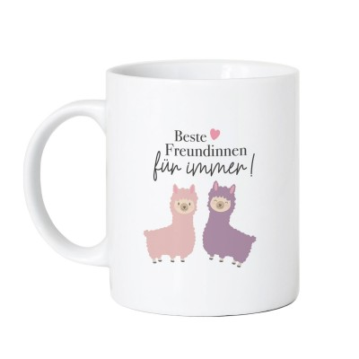 Beste Freundinnen für immer - Tasse Lieblingsmensch