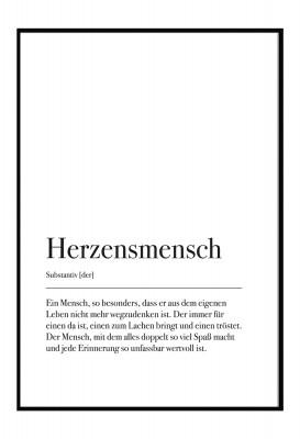 Herzmensch - Poster