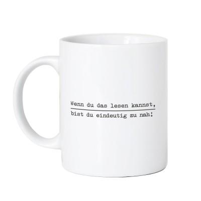 Zu nah - Lieblingskollegen Tasse