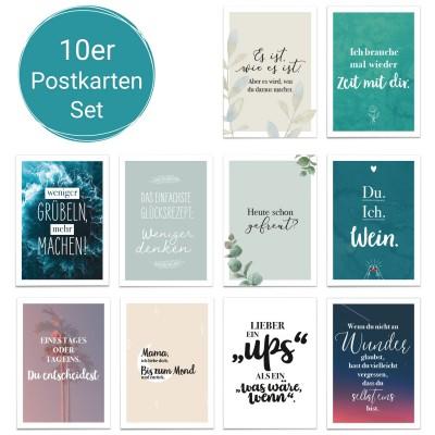 Lieblingssprüche - Postkartenset Lieblingsmensch