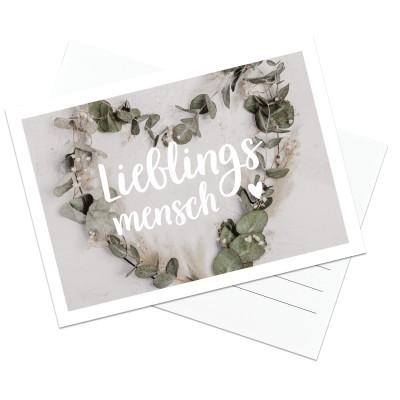 Postkarte Lieblingsmensch - Lieblingsmensch