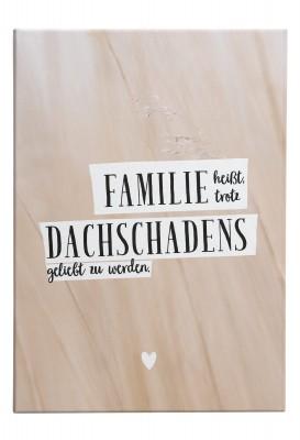 Leinwandbild - Familie