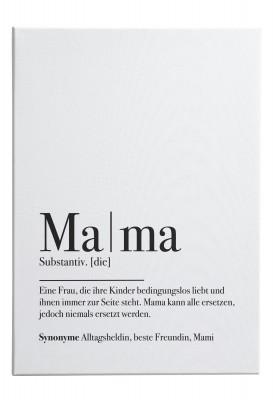 Lieblingsmensch Wandbild - Mama