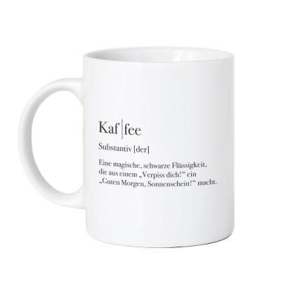 """Kaffee Tasse von VS"""" im Lieblingsmensch Stil"""