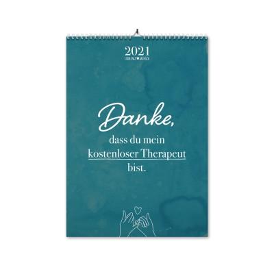 Freundschaft - Monatswandkalender 2021 - Lieblingsmensch
