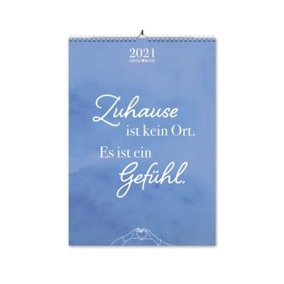 Zuhause - Monatswandkalender A3 - Lieblingsmensch